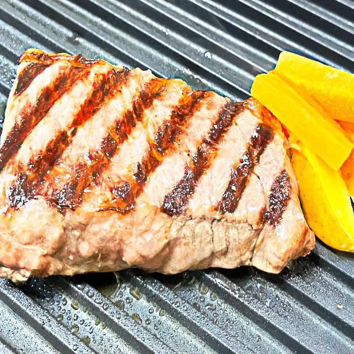 【厚切りステーキカット】牛ロース アメリカ産 焼肉BBQに 条件付送料無料 選べるたれ無しとたれ漬け【小分け不要で必要な分だけ解凍使用♪】 100gkitchen 04