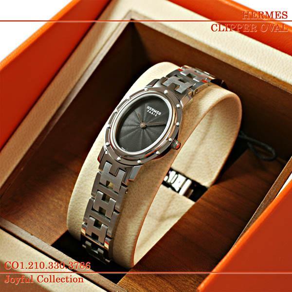 【超安い】 エルメス(HERMES)時計 クリッパー オーバル CO1.210.330/3786, 上品な 46eec15a