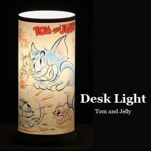 テーブルライト おしゃれ 『トムとジェリー』 デスクライト インテリア 照明 ※北海道・沖縄・離島送料別途見積