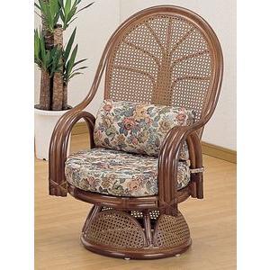 籐の座椅子 籐椅子回転座いす座椅子 ハイタイプ IMTK666B籐家具籐の座椅子 籐椅子木製 籐椅子木製 今枝商店 籐