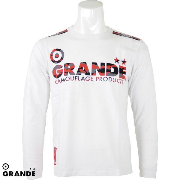 グランデ CAMO PROTO TYPE ロングスリーブTシャツ( サッカー フットサル ウェア カジュアルウェア サッカー フットサル シャツ GRANDE )