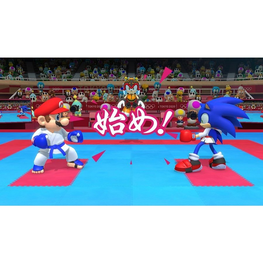 Switch マリオ&ソニックAT東京2020オリンピック(2019年11月1日発売)【新品】|1932|02
