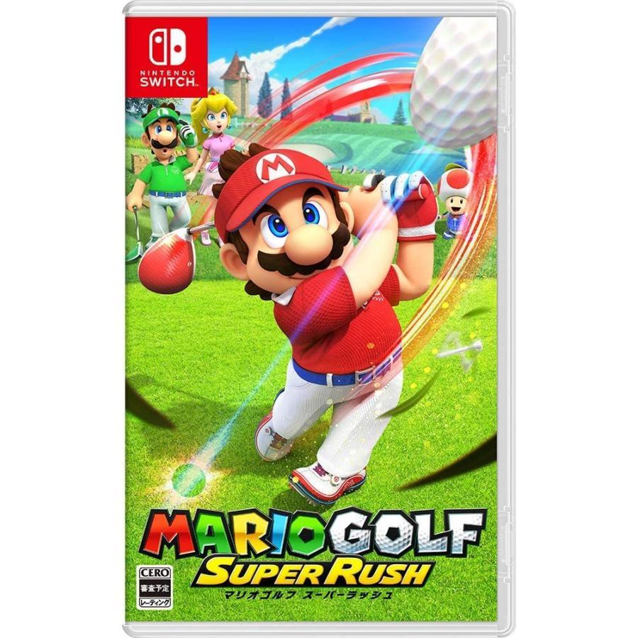 爆買いセール Switch マリオゴルフ スーパーラッシュ 2021年6月25日発売 ネコポス送料無料 新品 美品