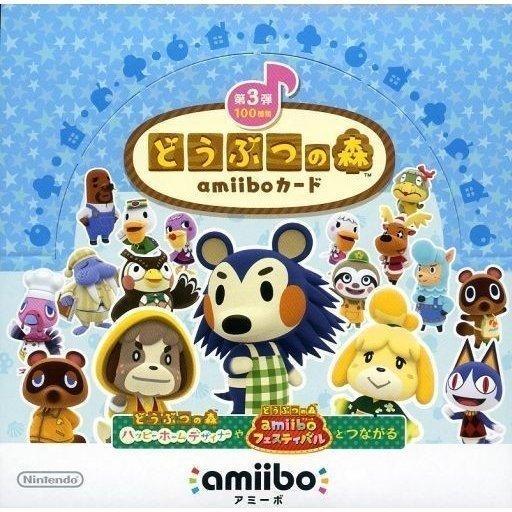 3DS用 どうぶつの森amiiboカード 第3弾(1BOX)(メール便配送不可)【新品】