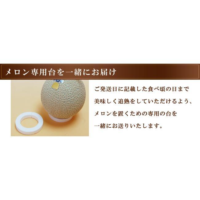 静岡産クラウンメロン 白等級 大玉 サイズ 1個 マスクメロン フルーツ くだもの 贈り物 贈答 プレゼント ギフト 高級 食べ頃明記|1999-shomeido|08