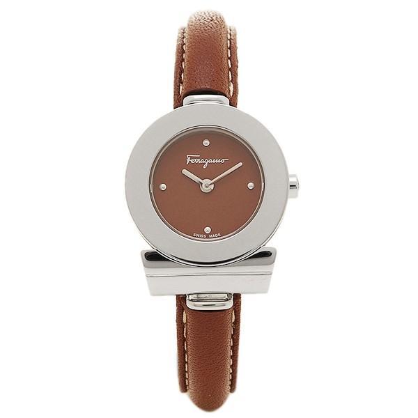安い購入 フェラガモ 腕時計 レディース Salvatore Ferragamo FII040015 ブラウン シルバー, HIDLED通販のfcl 3b79c2cf