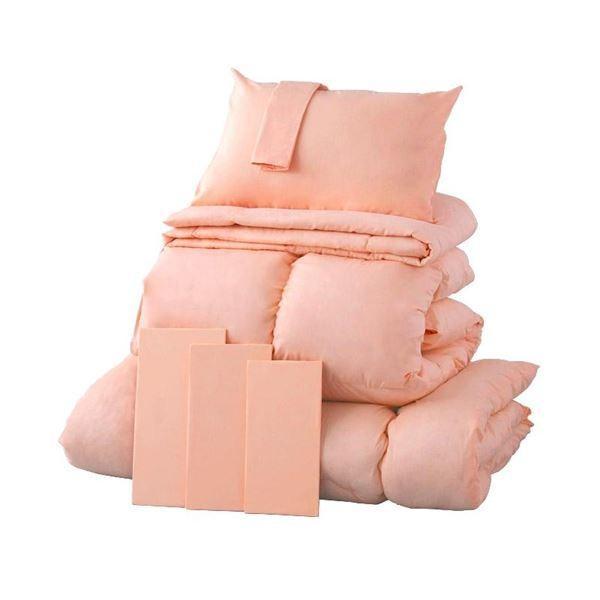 布団8点セット キング さくら 9色から選べる シンサレート入り布団 8点セット ベッドタイプ
