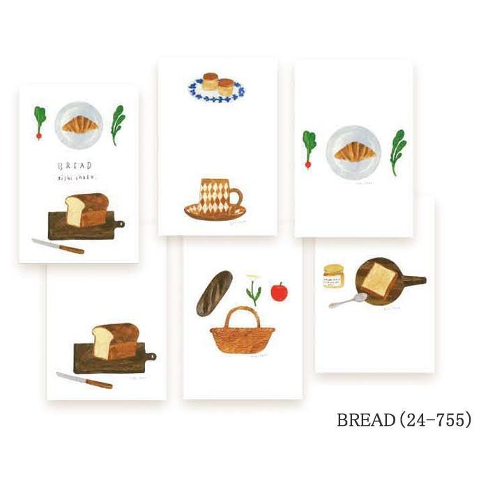表現社 はがき箋 nishi syuku 西淑  メール便対応 絵葉書 ハガキ ポストカード|1em-rue|06