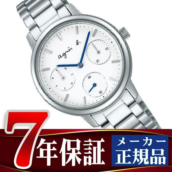 【超目玉】 アニエスベー SAM agnes b. サム ホワイト SAM レディース 腕時計 レディース ペアモデル ホワイト ダイアル FCST991, H.T.G.:e02e40c1 --- airmodconsu.dominiotemporario.com