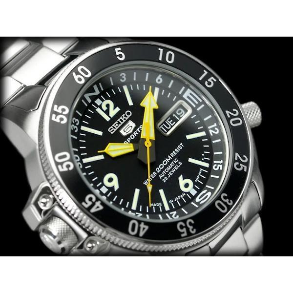 セイコー5 スポーツ SEIKO5 SPORTS 逆輸入 ダイバーズ 自動巻 メカニカル 腕時計 SEIKO セイコー 逆輸入 SKZ211J1|1more