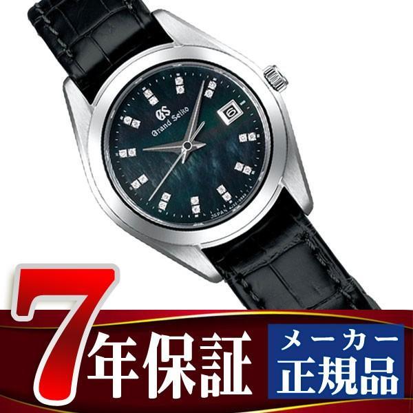 新到着 GRAND SEIKO グランドセイコー クオーツ 腕時計 レディース ブラックシェルダイアル STGF297, ニシワキシ 88d47bf8
