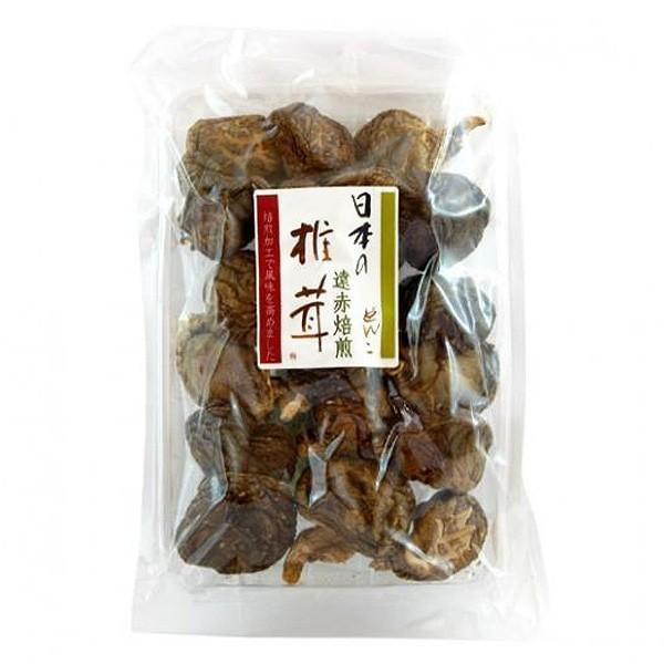 送料無料 国産 遠赤焙煎どんこ椎茸 50g×2個セット とても風味の良い肉厚などんこ椎茸(しいたけ)です。干し椎茸 乾燥しいたけ ※北海道沖縄離島は別途送料