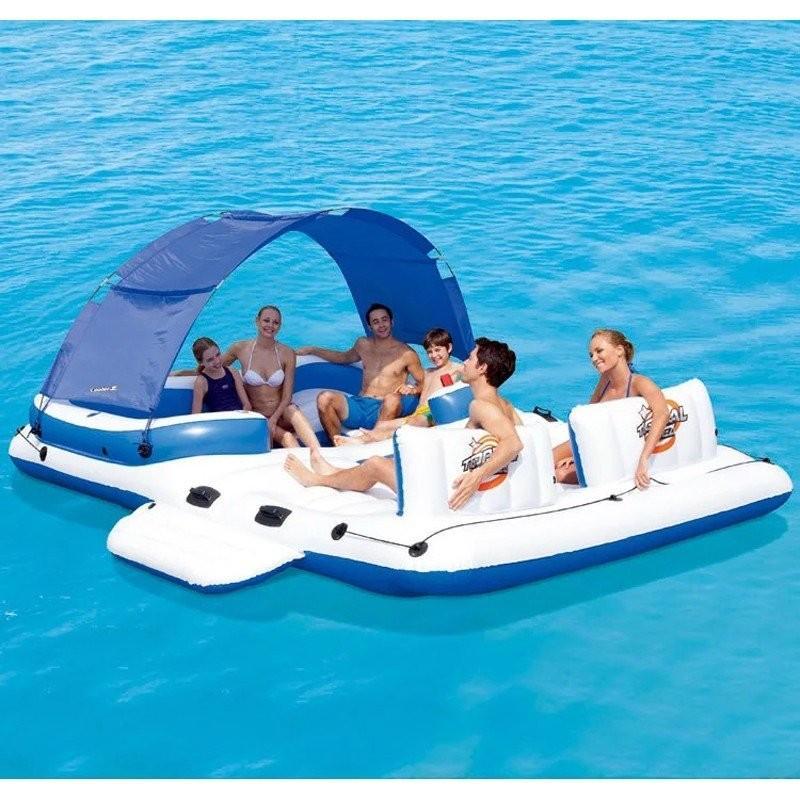 レジャーボート 水上パーティー ボート エアマット ポンプ付き 大人数