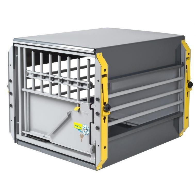 ミニバン用ドッグケージ スウェーデン·MIM SAFEの安全性が高いドッグケージMulticage