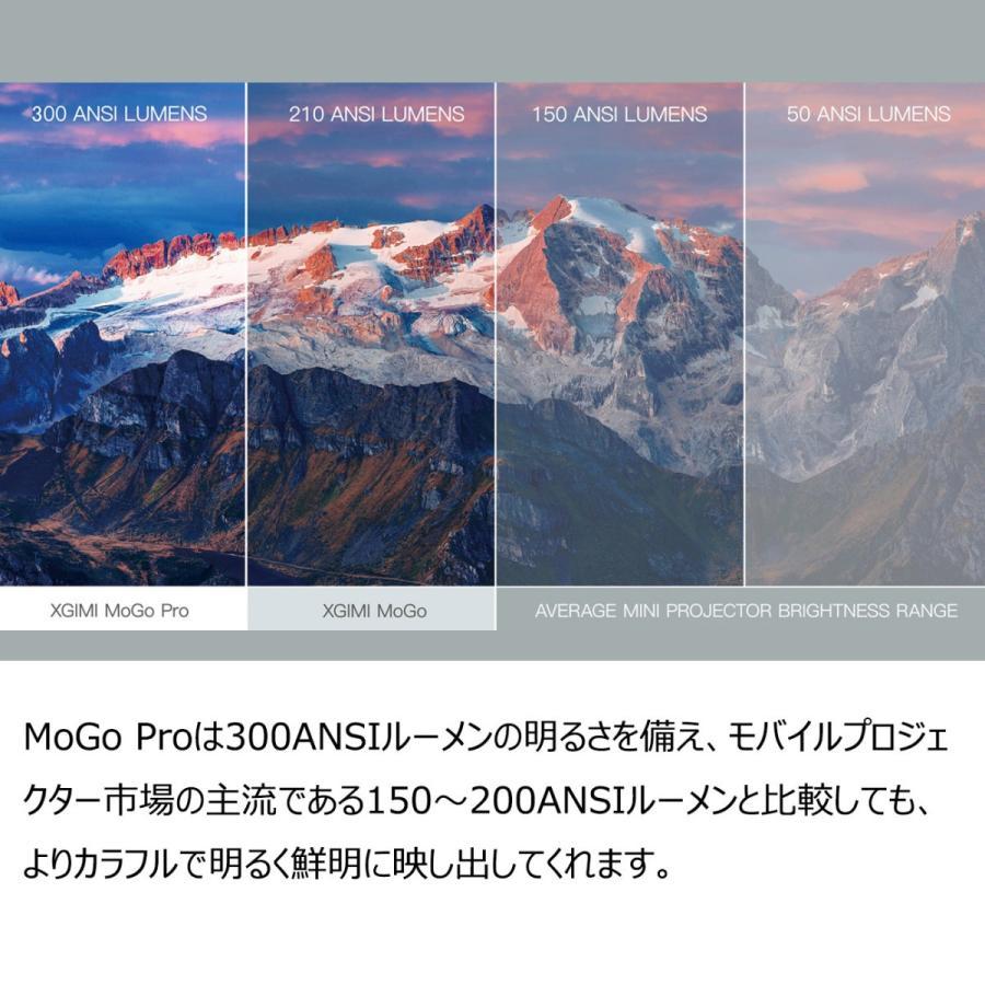 XGIMI ジミー MoGo Pro Android TV搭載 高性能モバイルプロジェクター Harman Kardon スピーカー 1080P 300ANSIルーメン 正規代理店|201912|04