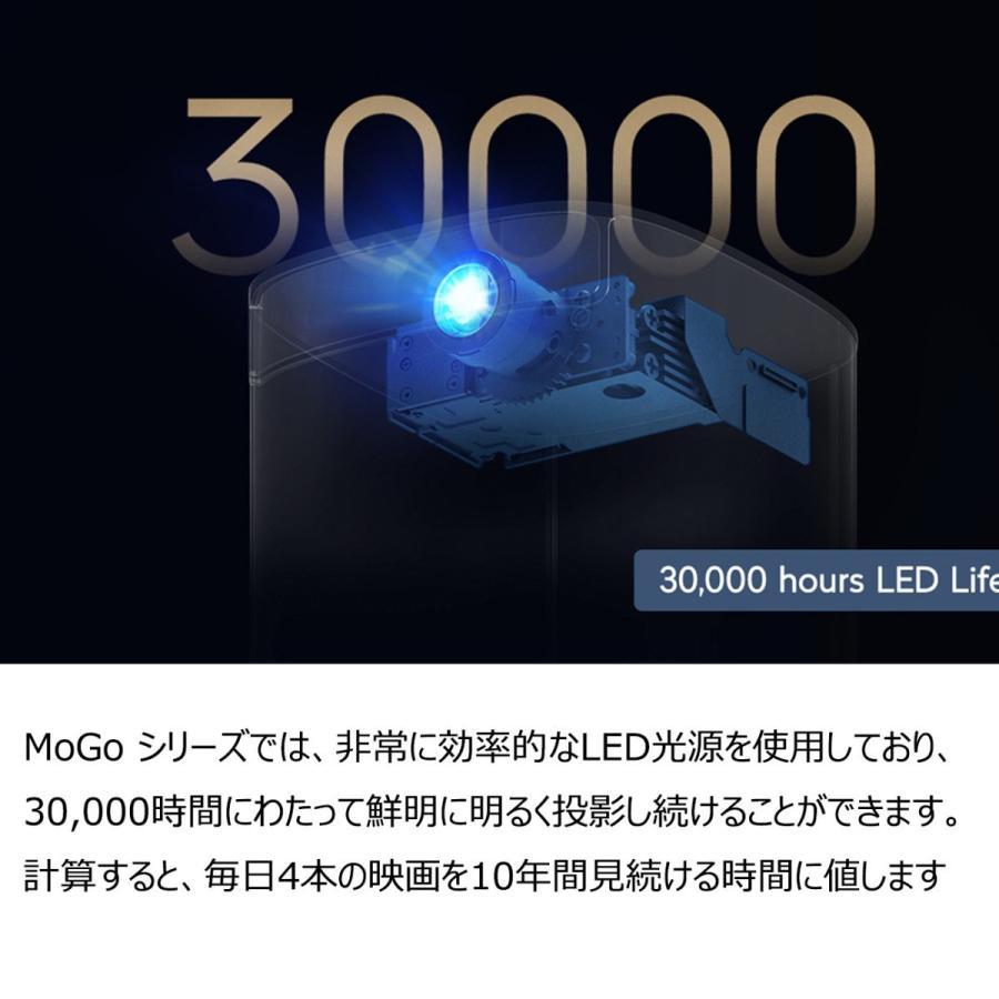 XGIMI ジミー MoGo Pro Android TV搭載 高性能モバイルプロジェクター Harman Kardon スピーカー 1080P 300ANSIルーメン 正規代理店|201912|10