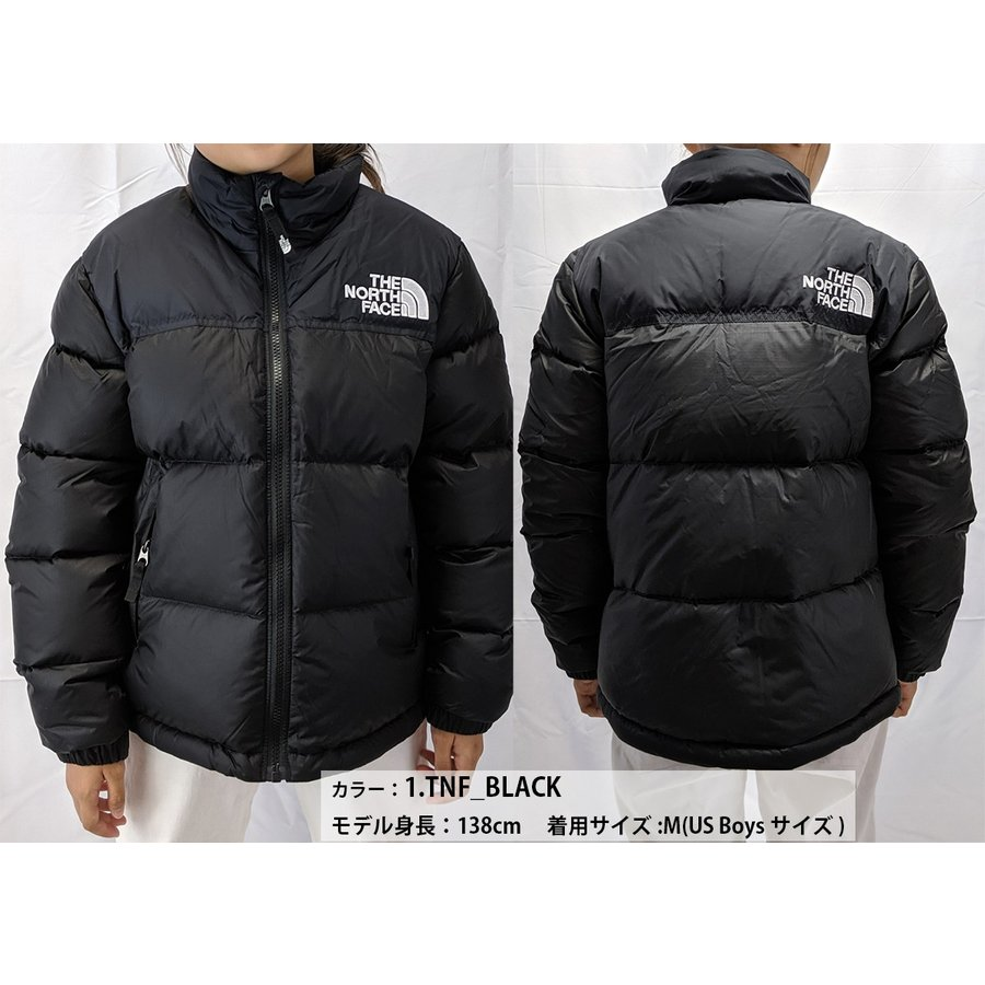 Tnf Black All Sizes The North Face Nuptse Boys Jacket Down