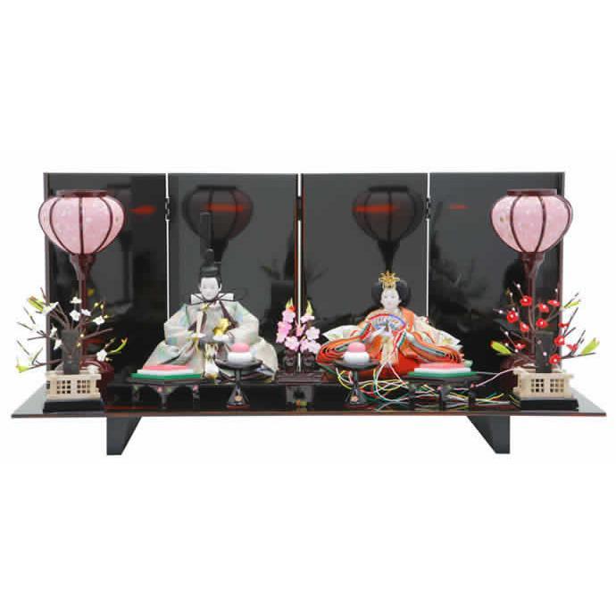 雛人形 ひな人形 親王飾り 平飾り h243-ed-5a302