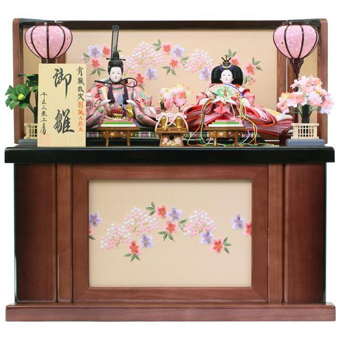 雛人形 ひな人形 収納飾り 親王飾り h243-ss-39a-122-ss