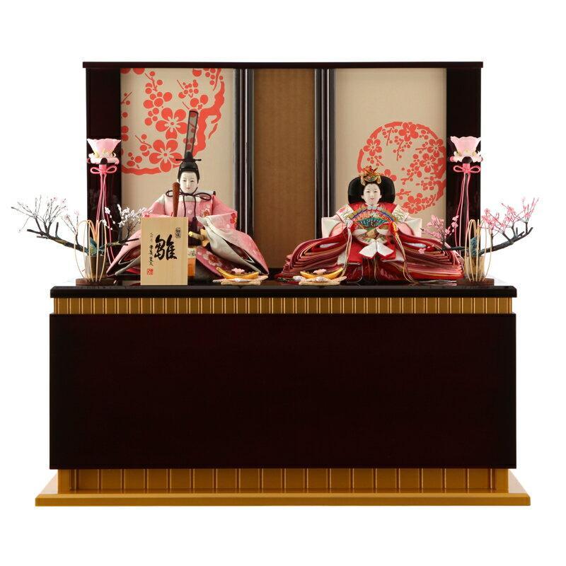 ひな人形 雛人形 親王飾り 収納飾り h253-mo-my-no-2