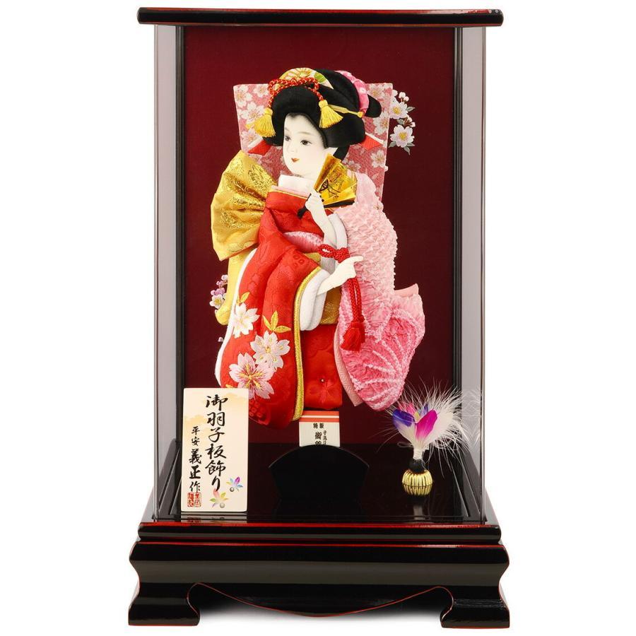 ケース飾り かれん 刺繍桜と梅 10号