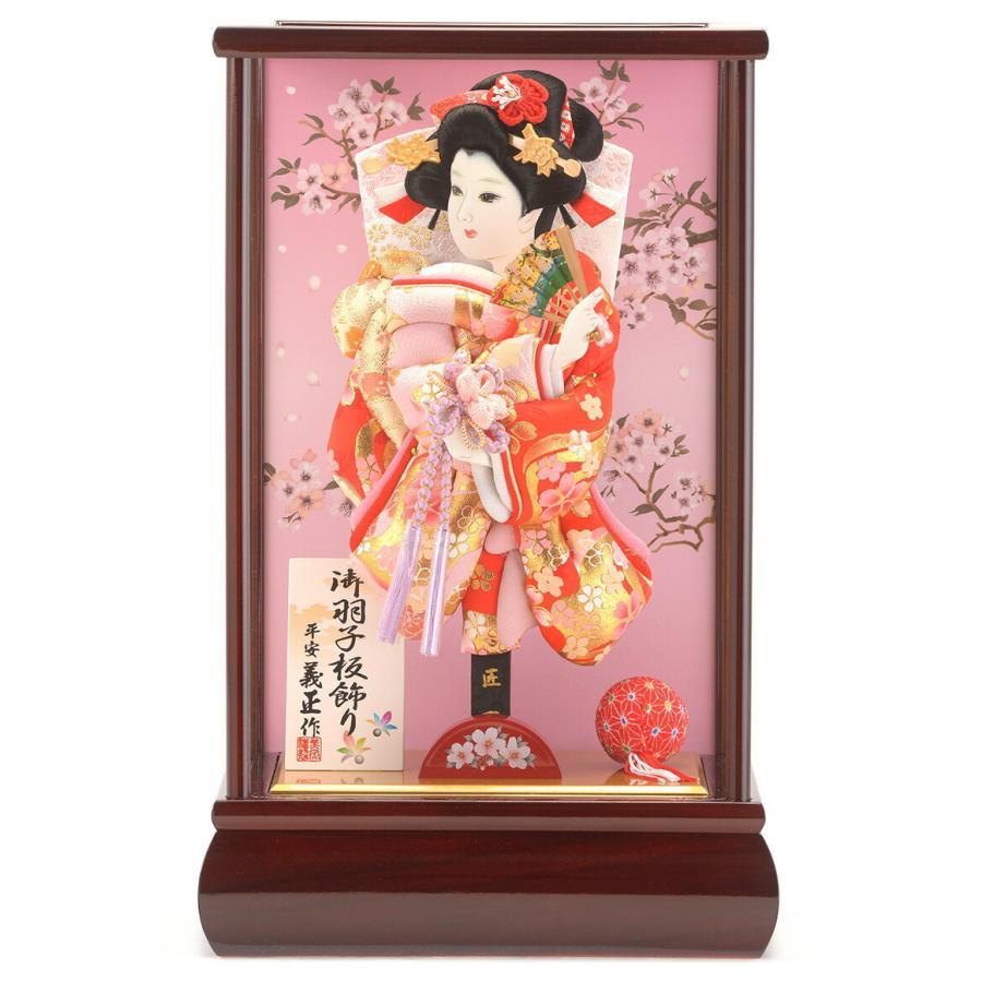 ケース飾り 金彩桜流水 春慶 8号