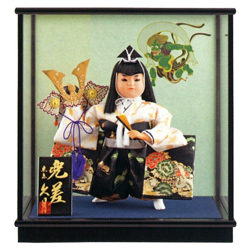 ケース飾り 武者人形 若龍 兜差 7号 慶印7