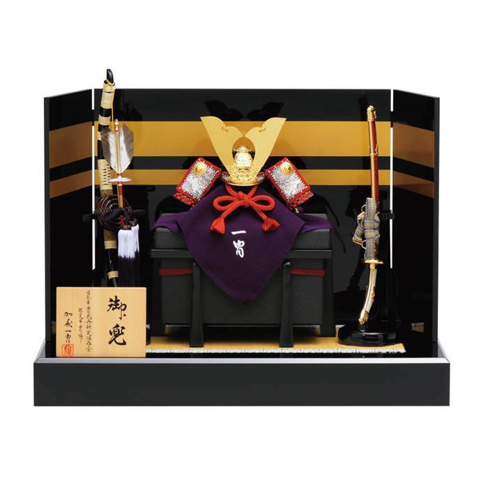五月人形 真多呂 兜平飾り 兜飾り 加藤一冑作 四分の一 極上兜飾りセット h315-mtk-014