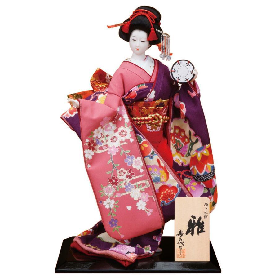 日本人形 尾山人形 人形単品 寿喜代作 極上本頭 雅 金彩 8号 sk-gokujo740