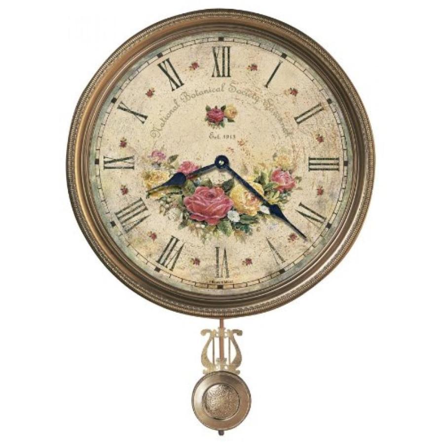 壁掛け 時計 Howard Miller 620-440 Savannah Botanical VII Wall Clock