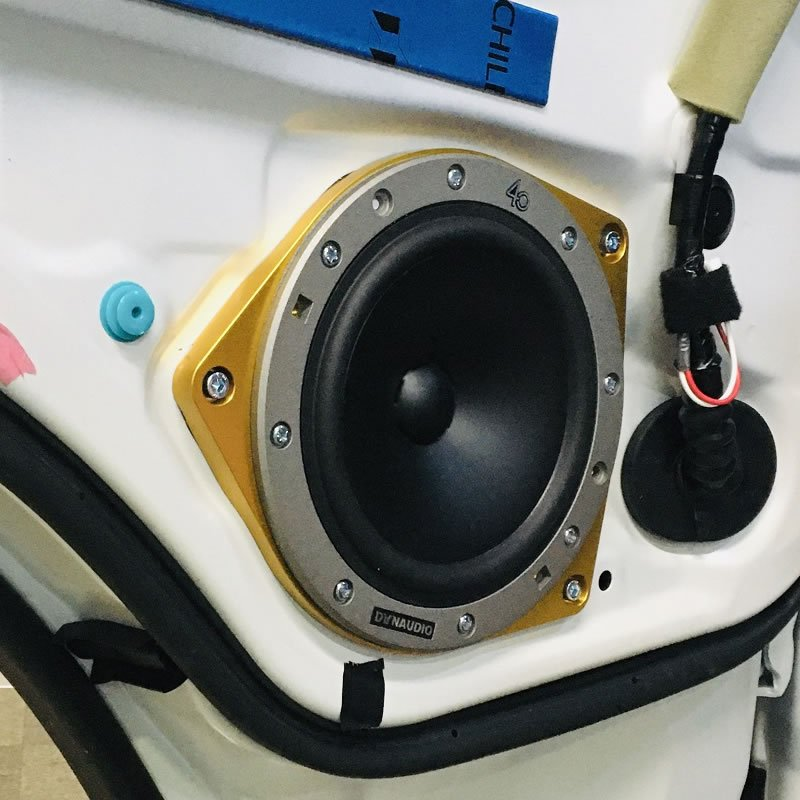MX600PCD●ハイエース専用●ジュラルミン削り出しインナーバッフル|輸入スピーカーの取り付けに|全国どこでも送料無料&プレセントキャンペーン♪|25hz-onlineshop|03
