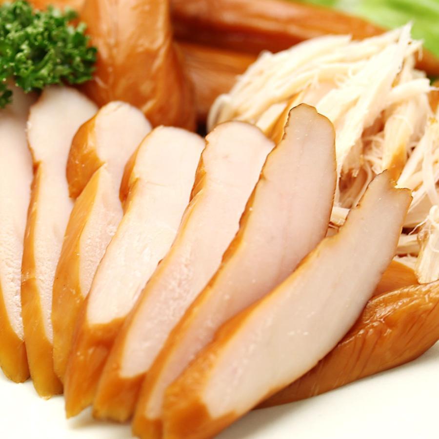 スモークササミ-130g スモークチキン 鶏ささみ燻製 筑波ハム 国産鶏  茨城県 特産品 名物商品|29886|03