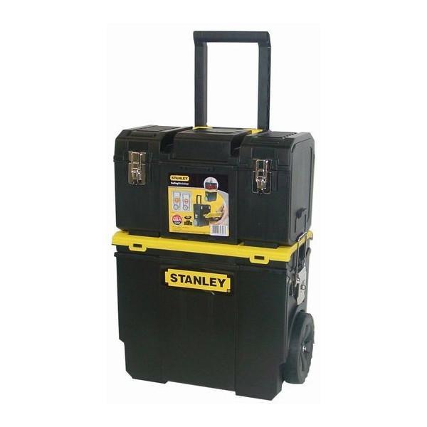 便利もん+ STST18613 3in1 モバイルワークセンター V703573 工具箱 BOX True Value トゥルーバリュー STANLEY WORKS スタンレー 大型商品|2kanajin