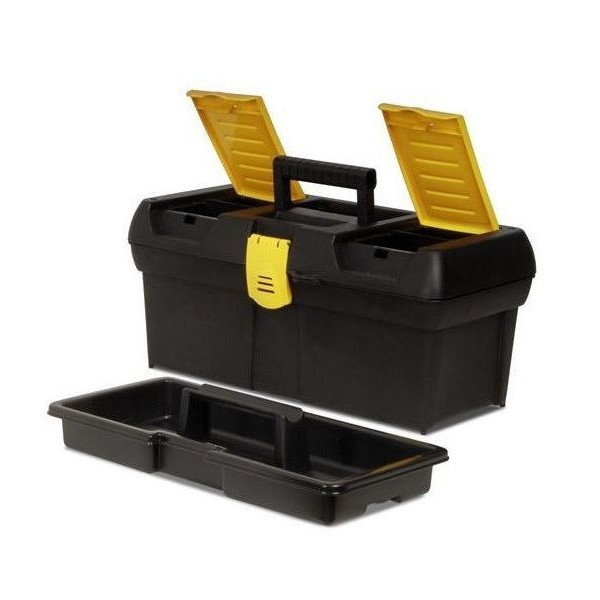 便利もん+ 016011R ツールボックス 40cm V939767 工具箱 BOX True Value トゥルーバリュー STANLEY WORKS スタンレー 2kanajin
