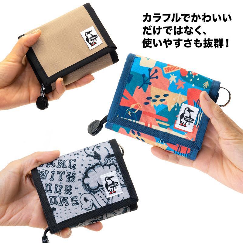 CHUMS チャムス 財布 リサイクル マルチ ウォレット Recycle Multi Wallet 2m50cm 02