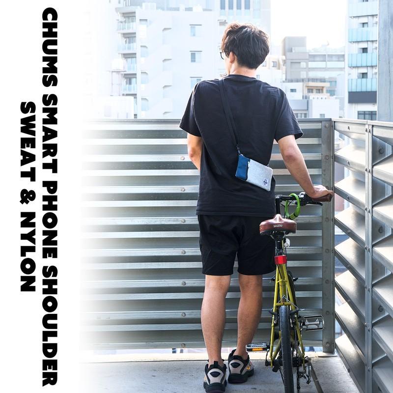 スマホポーチ チャムス CHUMS スマートフォン ショルダー Smart Phone Shoulder|2m50cm|02