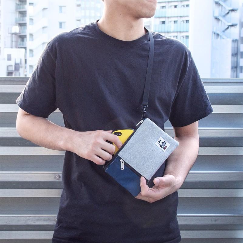 スマホポーチ チャムス CHUMS スマートフォン ショルダー Smart Phone Shoulder|2m50cm|12