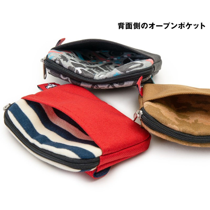 CHUMS チャムス 財布 Pocket Size Wallet Sweat Nylon ポケットサイズ ウォレット スウェットナイロン 2m50cm 10