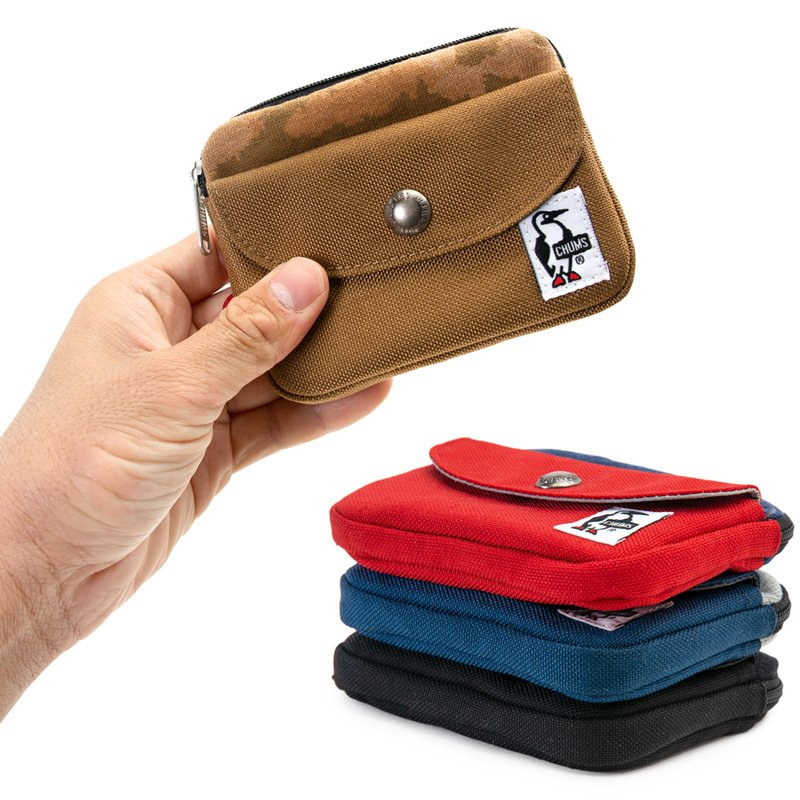 CHUMS チャムス 財布 Pocket Size Wallet Sweat Nylon ポケットサイズ ウォレット スウェットナイロン 2m50cm 03