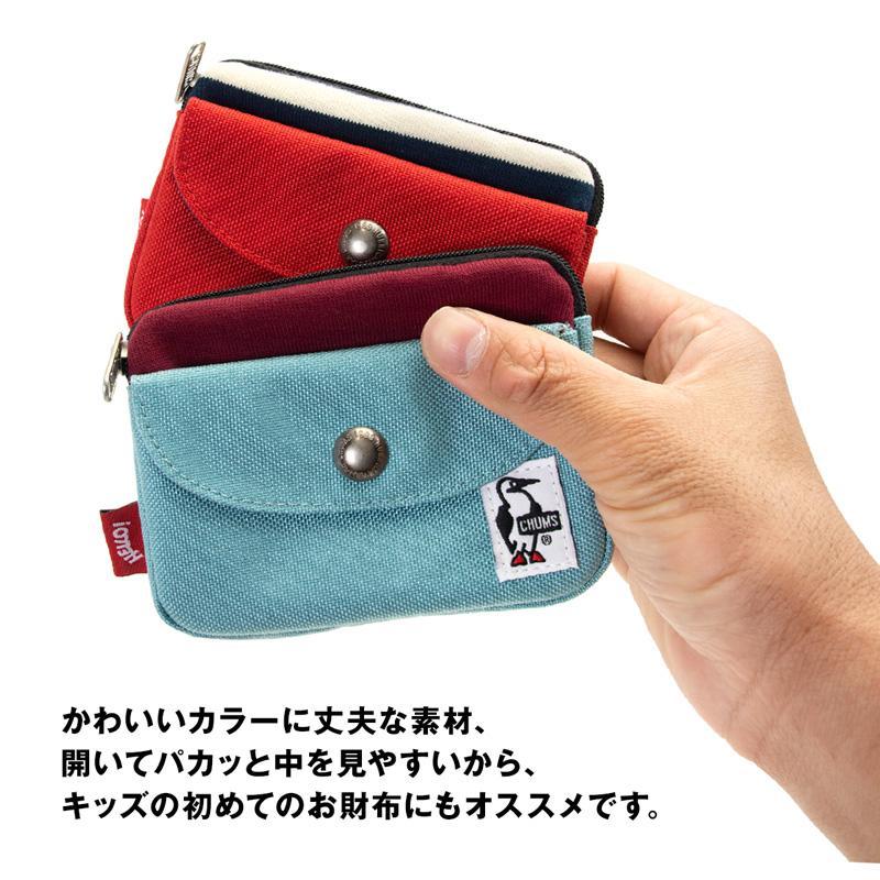 CHUMS チャムス 財布 Pocket Size Wallet Sweat Nylon ポケットサイズ ウォレット スウェットナイロン 2m50cm 05