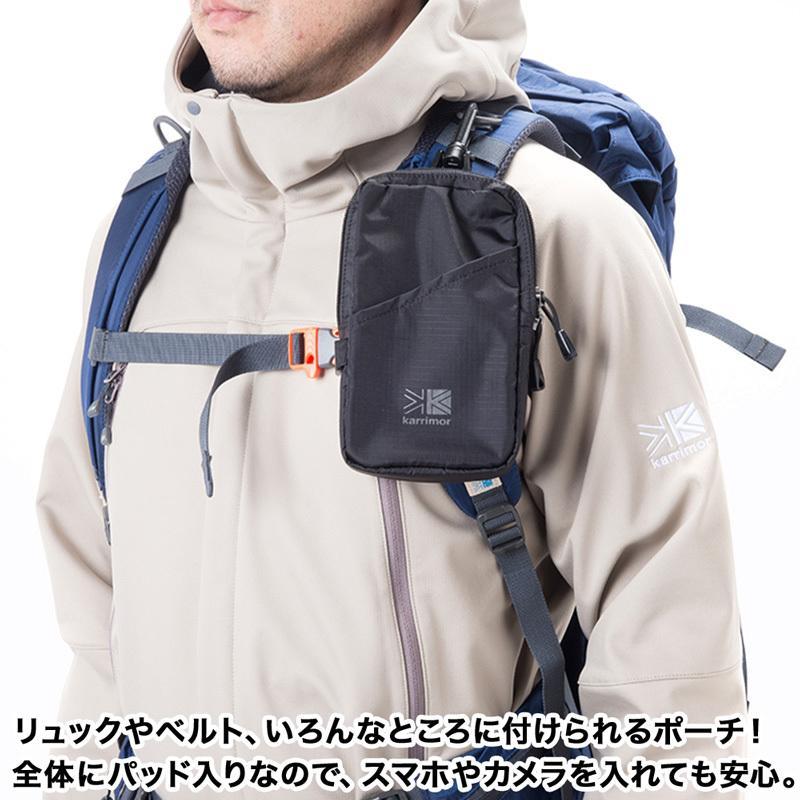 スマホケース カリマー karrimor Trek Carry Shoulder Pouch トレックキャリー ショルダーポーチ 2m50cm 07
