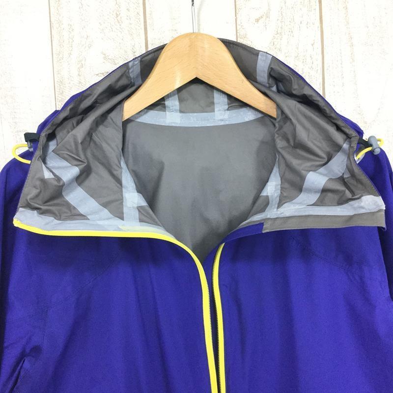 【MEN's S】ヘリテイジ カモシカ ウィンドストッパー アクティブシェル ジャケット 軽量 レインジャケット HERITAGE ブルー系|2ndgear-outdoor|02