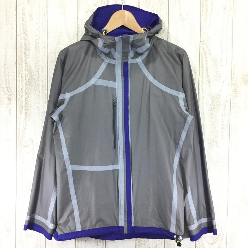 【MEN's S】ヘリテイジ カモシカ ウィンドストッパー アクティブシェル ジャケット 軽量 レインジャケット HERITAGE ブルー系|2ndgear-outdoor|09