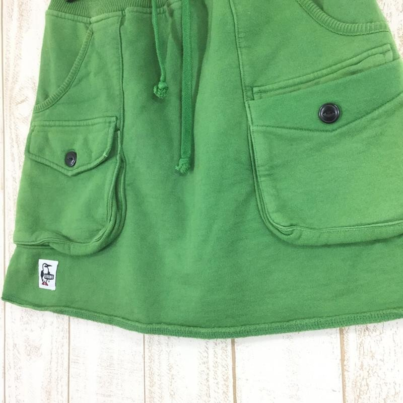 チャムス CHUMS スウェット ブッシュ スカート Sweat Bush Skirt  WOMEN's M グリーン系 2ndgear-outdoor 08