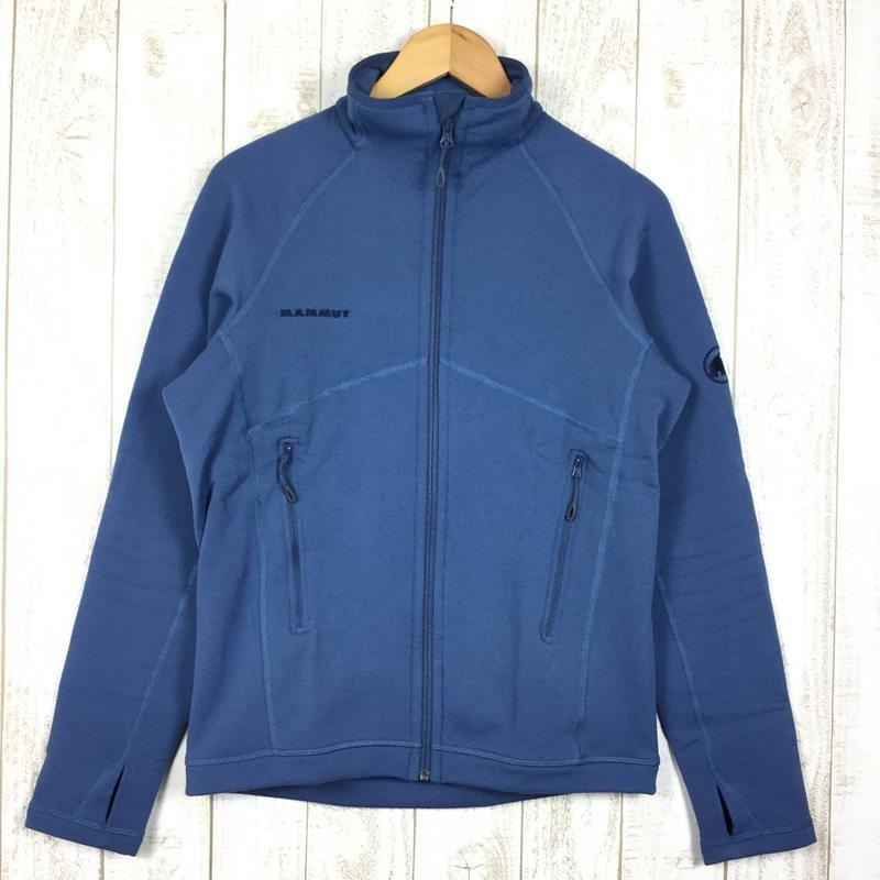 マムート MAMMUT アコンカグア ジャケット Aconcagua Jacket ポーラテック パワーストレッチ MEN's M ネイビー系