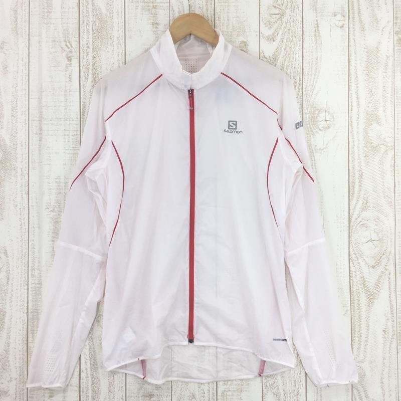 【MEN's M】サロモン S-LAB ライト ジャケット S-LAB LIGHT JKT SALOMON L36371700 ホワイト系 2ndgear-outdoor