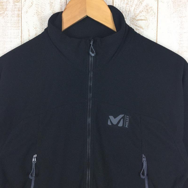 【MEN's M】ミレー K ライト グリッド ジャケット MILLET MIV8269 ブラック系|2ndgear-outdoor|02