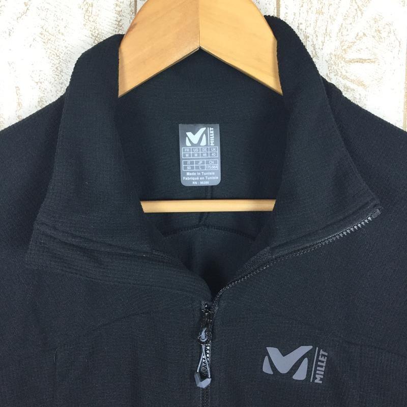 【MEN's M】ミレー K ライト グリッド ジャケット MILLET MIV8269 ブラック系|2ndgear-outdoor|03