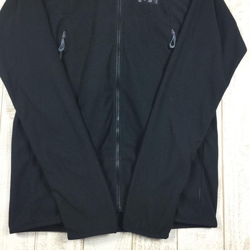 【MEN's M】ミレー K ライト グリッド ジャケット MILLET MIV8269 ブラック系|2ndgear-outdoor|05