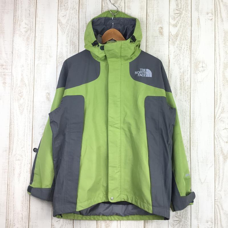 ノースフェイス NORTH FACE マウンテン ジャケット Mountain Jacket ゴアテックス Asian MEN's M グリーン系